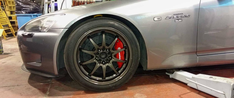 Elaborazione Honda S2000 - Cerchi + Freni
